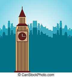 miasto, projektować, londyn