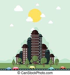 miasto, przyszłość