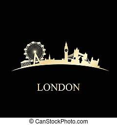 miasto skyline, londyn
