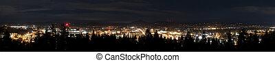 miasto skyline, panorama