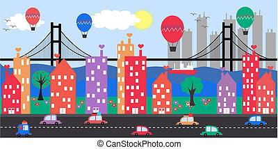 miasto skyline