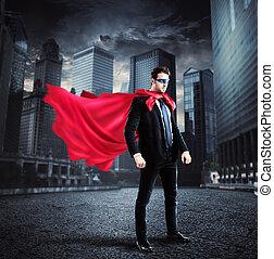 miasto, superhero