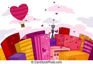 miasto, valentine