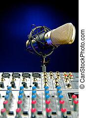 mic, producao, misturador, música, vocal, áudio