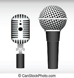 mic, vectors