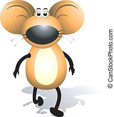 Mice - A  mice walking