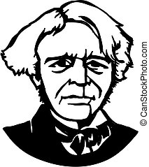 Michael Faraday, a British scientist (a physicist and chemist)