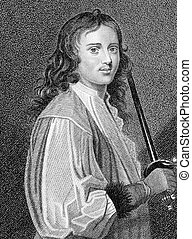 Michael Mohun (1616-1684) on engraving from the 1800s....