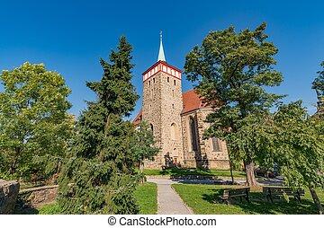 Saint Michael church in the Saxon town of Bautzen