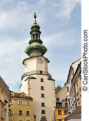 Michal tower in Bratislava, Slovakia. - Michal Tower (...