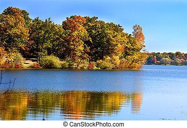 Michigan Autumn Landscape