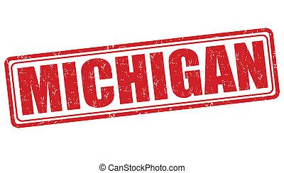 Michigan stamp