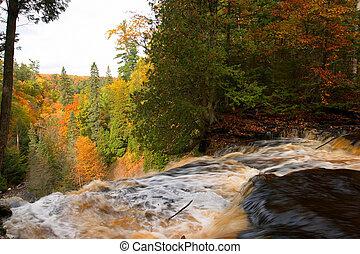 Michigan Waterfall