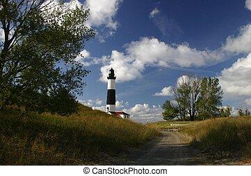 Michigan's Ludington Lighthouse