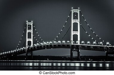 Michigan's Mackinaw Bridge