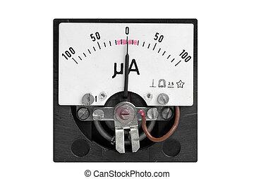 micro ampere meter