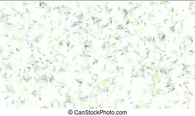 micro bio background, transparent plankton