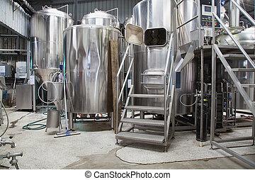micro, cervecería