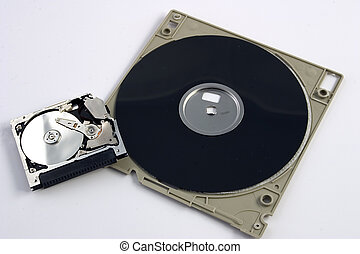 Micro Drive VS Floppy - Isolated micro drive
