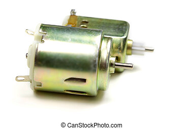 Micro motors - Close up shot of DC micro motors