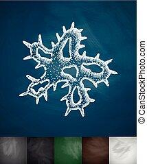 microbe, pictogram