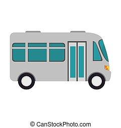 microbus transport vehicle