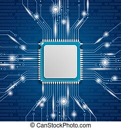Microchip Processor Lights