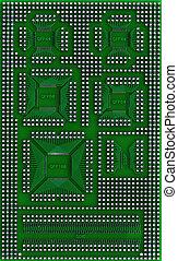 microcircuit, technika