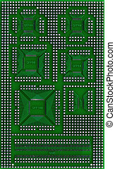 microcircuit, technologie