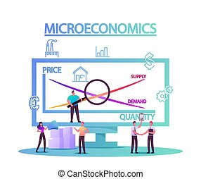 Microeconomics, Tiny Characters Local Business Increase ...