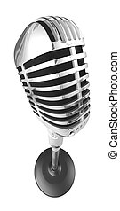 microfone, 50s