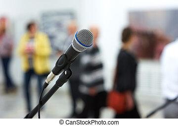 microfone, fase