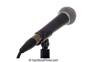 microfone, vocal
