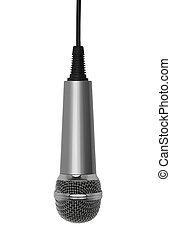 microfono, appendere
