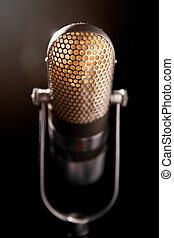 microfono, vecchio