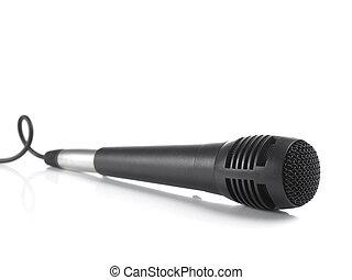 microfoon, black