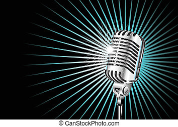 microfoon, oud