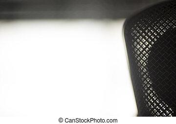 microfoon, stem, groot, diafragma, studio, opname