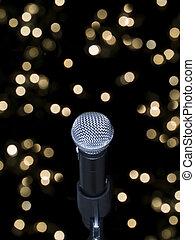 microfoon, toneel