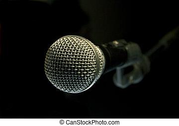 microphone, audio