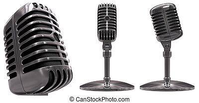 microphone, classique