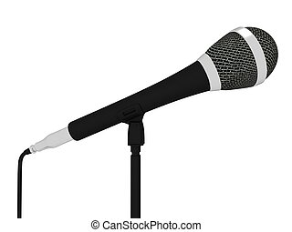 Microphone Closeup Musical Shows Concert Songs Or Singing Hits
