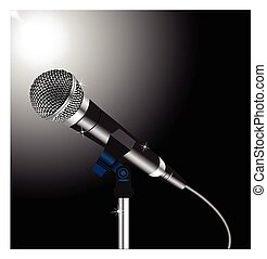 Voice microphone cord word singing talent show. Voice word ...