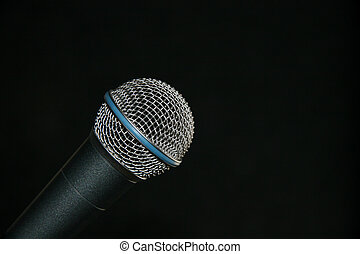 microphone, isolé