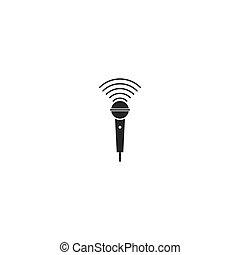 microphone music logo