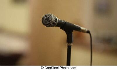 Microphone on a Scene