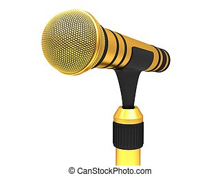 microphone, or