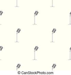 Microphone pattern seamless