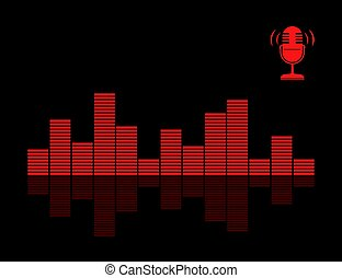 microphone, son, audio