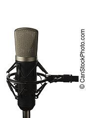 microphone, studio